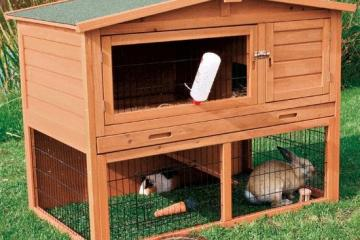 Trixie Outdoor Rabbit Hutch