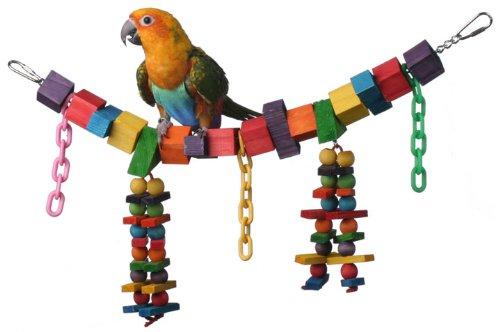 Safe Bird Toys: how to make safe homemade bird toys