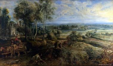 RUBENS-Peter-Paul-An-Autumn-Landscape-with-a-View-of-Het-Steen