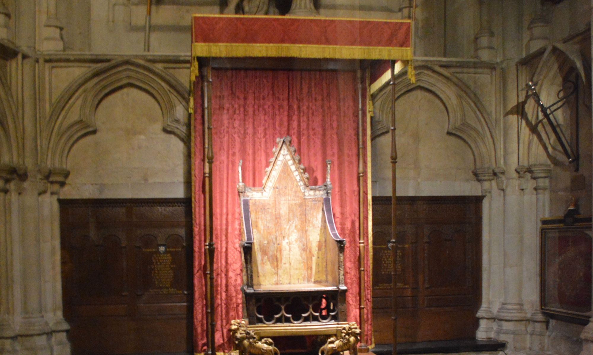 coronation chair westminster abbey