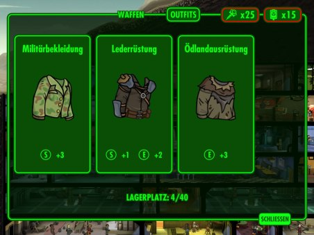 Outfits der Vault-Bewohner