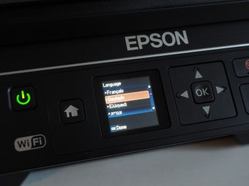Epson EcoTank ET-2550 Display
