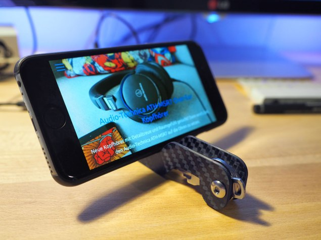 Keypack iPhone Stand