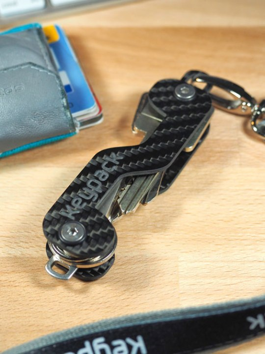 Schluss mit dicken Schlüsselringen