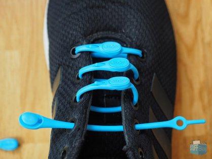 Normale Schnürung für normale Füße