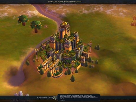 Civilization 6 Screenshot Weltwunder