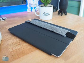 Auch mit iPad Cover