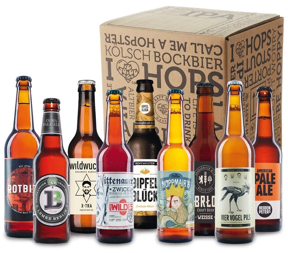 Craft Beer Kennenlern Box