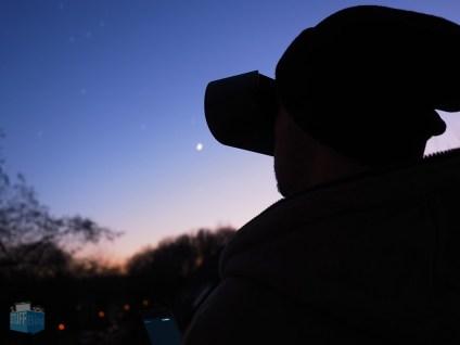 Blick durch den Stargazer