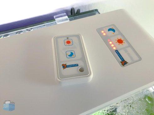 Lichtsteuerung per Touchfeld oder Fernbedienung