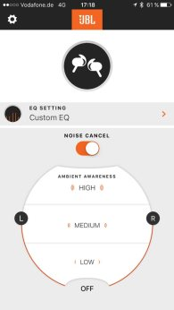 JBL Reflect Aware App