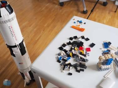 LEGO Saturn V Aufbau
