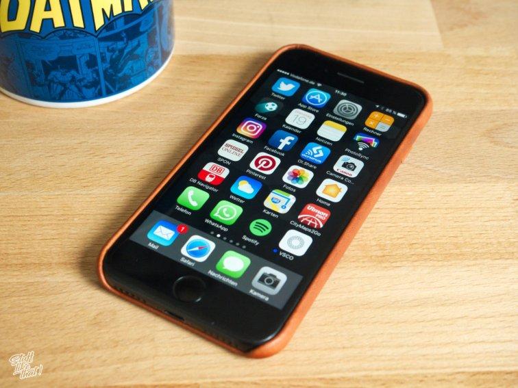 QUADOCTA No. 5 mit iPhone