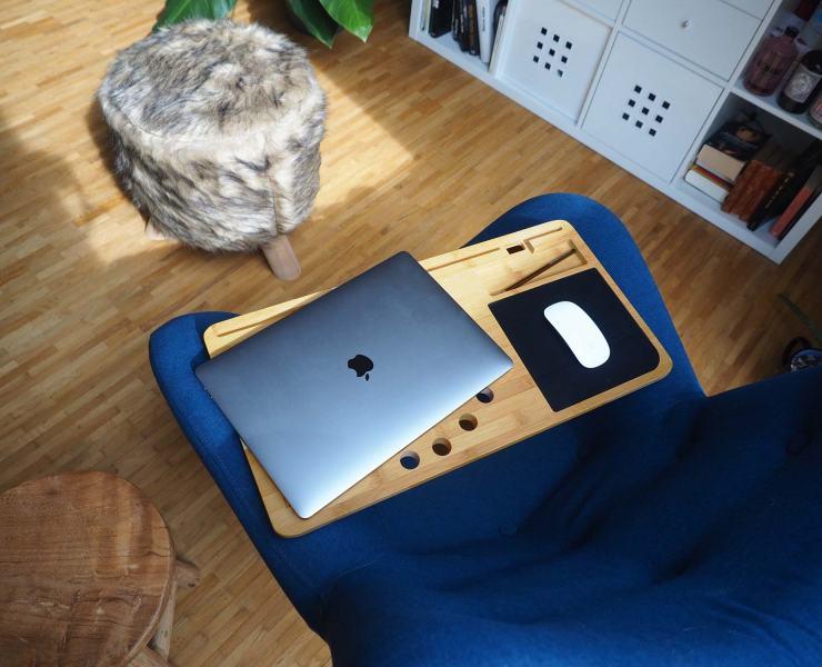 mobiler Schreibtischersatz - Lapzer