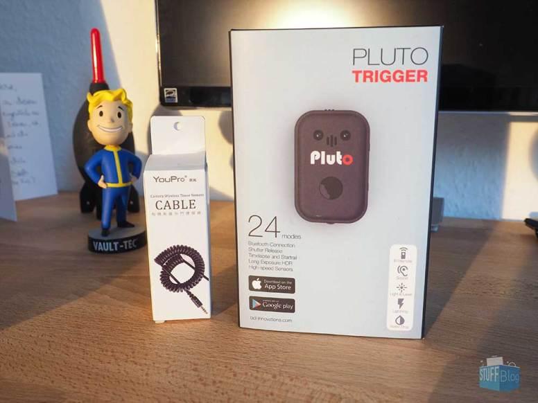 Pluto Trigger Set mit Kabel