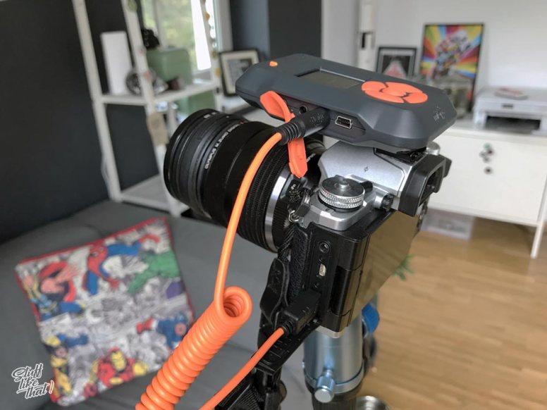 MIOPS Smart Trigger auf Olympus OM-D E-M5II