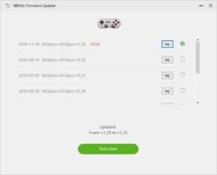 8bitdo Upgrade tool