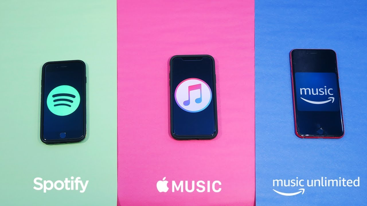 Apple music vs Spotify vs Amazon prime music