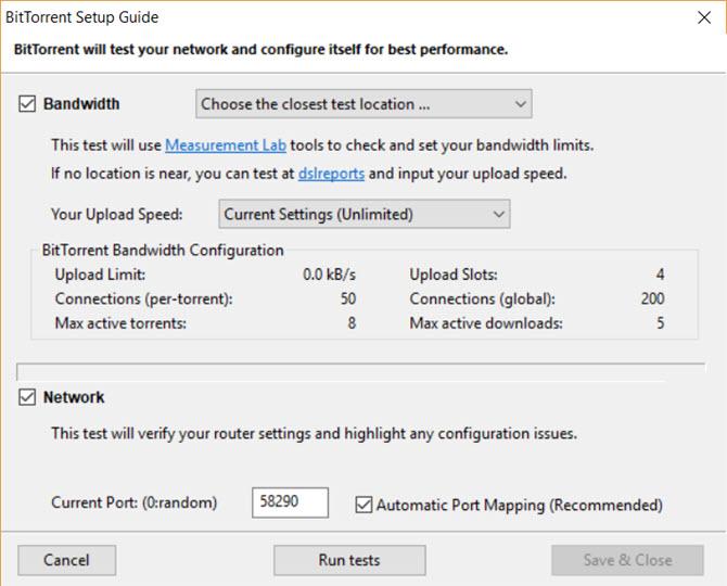 torrent download dialog box