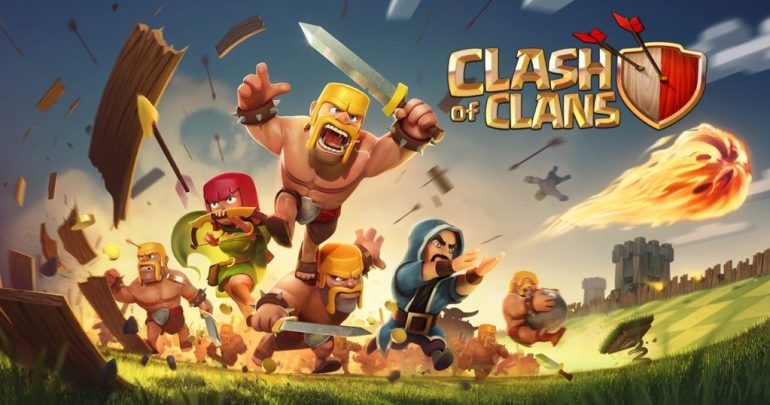 Clash of clans Best free games for iPhone in 2019
