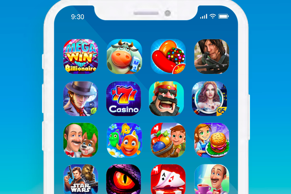 screenshot of iPhone games