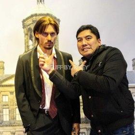 Johnny Depp at Madame Tussaud's Amsterdam