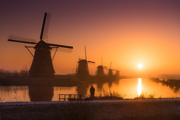 Dreamy Dutch Sunrise