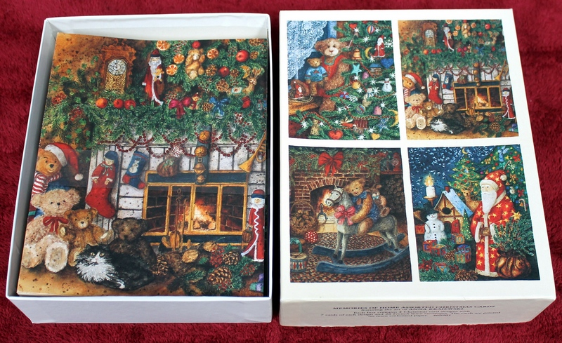28 LANG Memories Of Home Assorted Christmas Cards