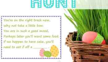 Easter basket ideas our girls basket gifts family fun easter scavenger hunt kids easter baskets negle Image collections
