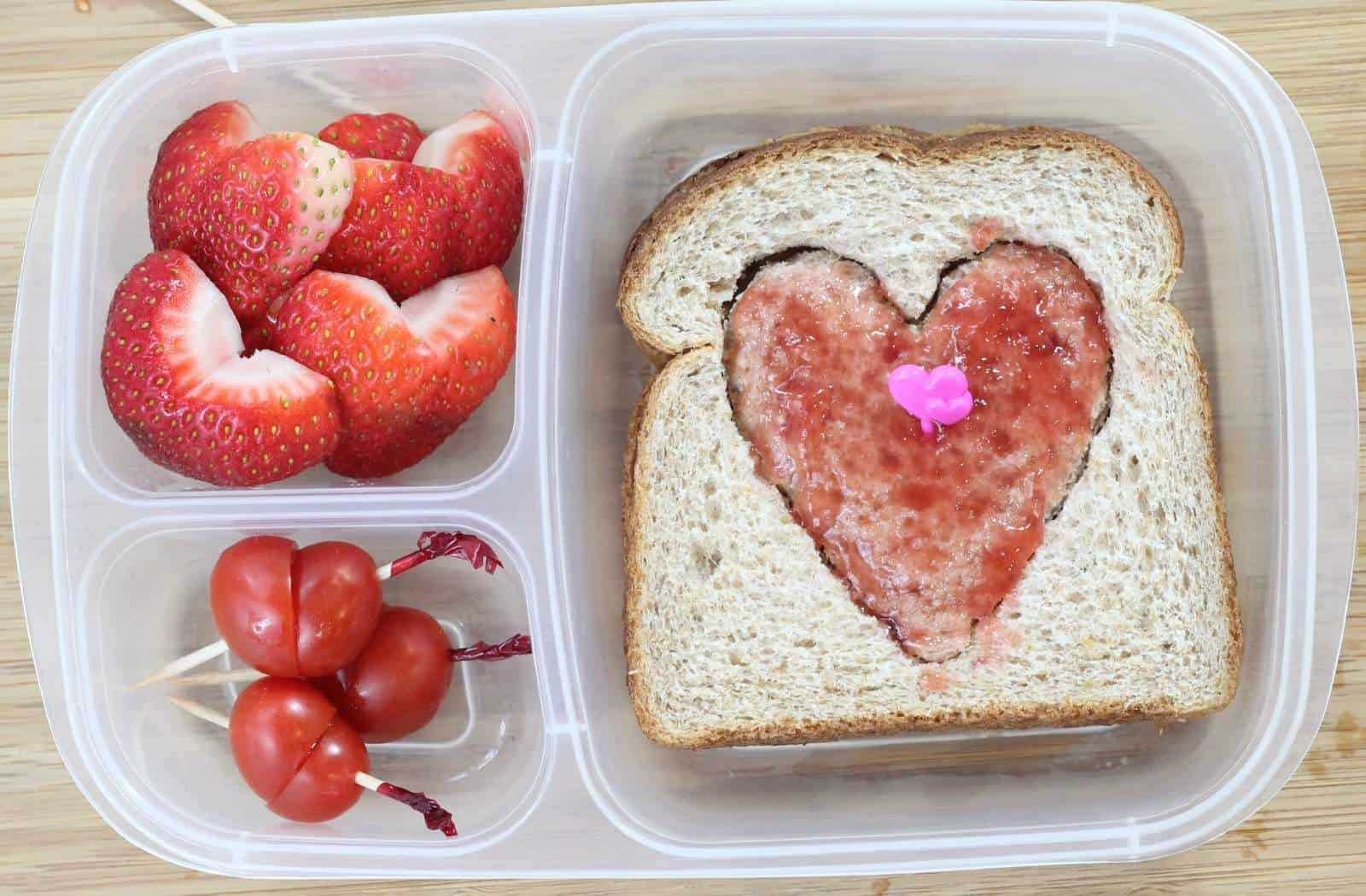 Quick And Easy Valentines Day School Lunch Ideas