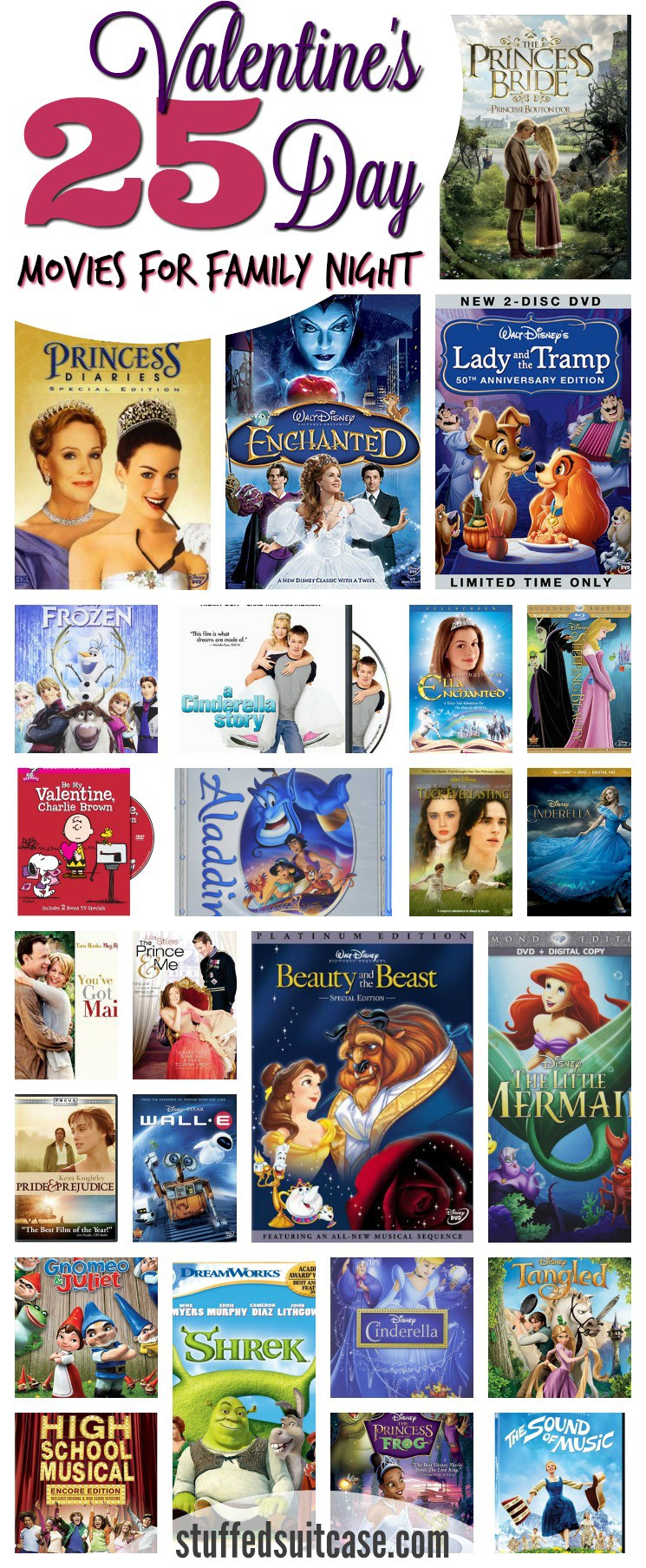 25 Valentines Day Movies for Family Movie Night