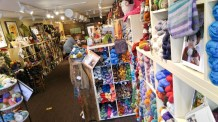 Twisted yarn store in Chelan, WA
