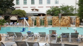 Onsite Hill Country Atrium pool