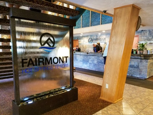 Fairmont Hot Springs Lobby