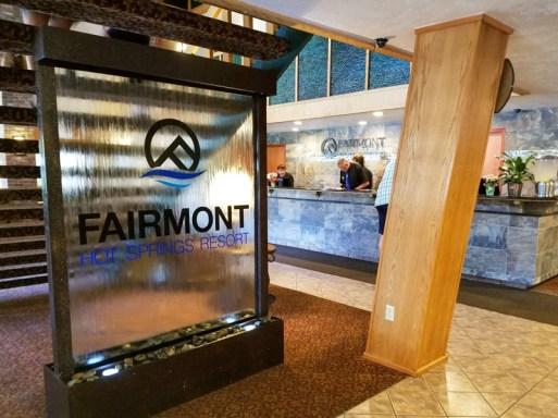 Fairmont Hot Springs Lobby