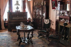 Lots of historic artifacts housed in the Copper King Mansion