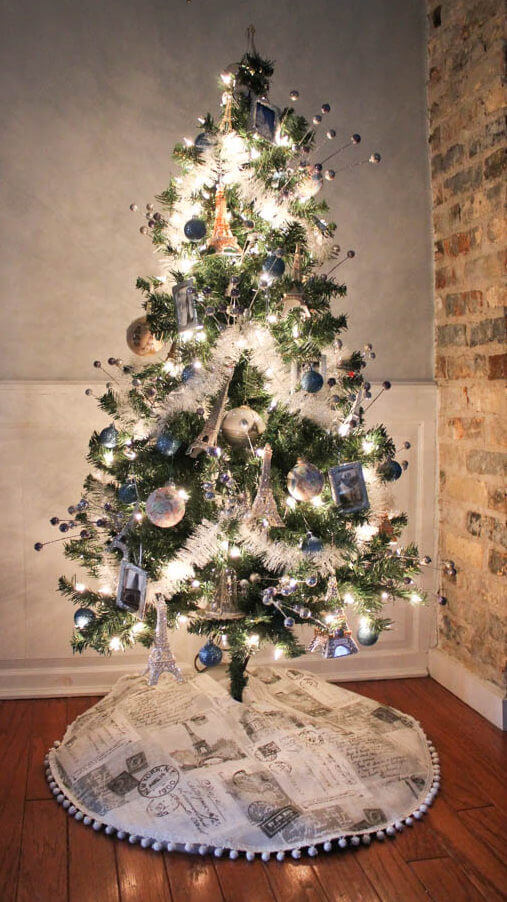 Decorate A Travel Theme Christmas Tree