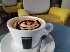 Delicious coffee at Doppio