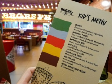 Great kid menus at most of the specialty restaurants at Nickelodeon Punta Cana