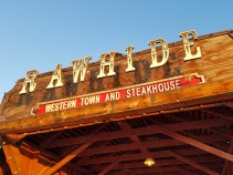 Rawhide Western Town & Steakhouse in Chandler Arizona - great attraction & dining for families