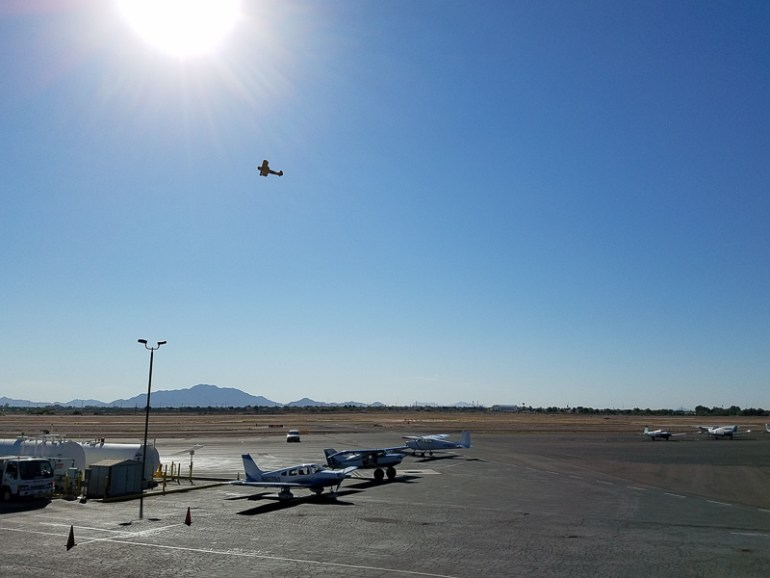 The Hangar Cafe is on site at the Chandler Municipal Airport!