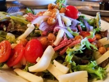 Italian chop salad at Bella Gusta Urban Pizzeria