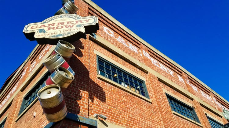 Cannery Row Brewing Company in Monterey Bay, CA