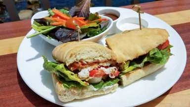 This was one of the best sandwiches I've ever had! Sea Bass BLT