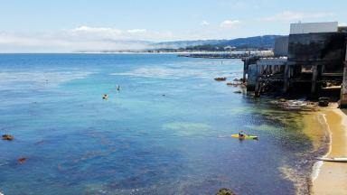 Kayaking on Monterey Bay
