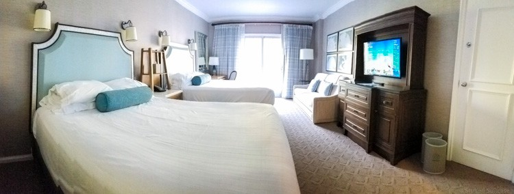 Room at The Beach Club Resort WDW © Stuffed Suitcase