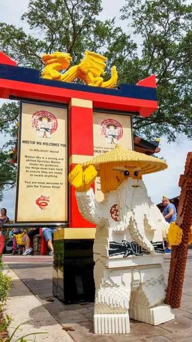 Amazing LEGO creations around all of NINJAGO World