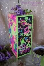 peace love mini locker