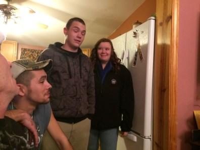Dale, Brandon, and Kaelyn