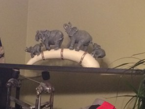 My good luck Elephants from my mom